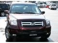 2007 Dark Cherry Pearl Honda Pilot EX-L 4WD  photo #3