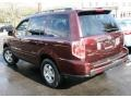 2007 Dark Cherry Pearl Honda Pilot EX-L 4WD  photo #9