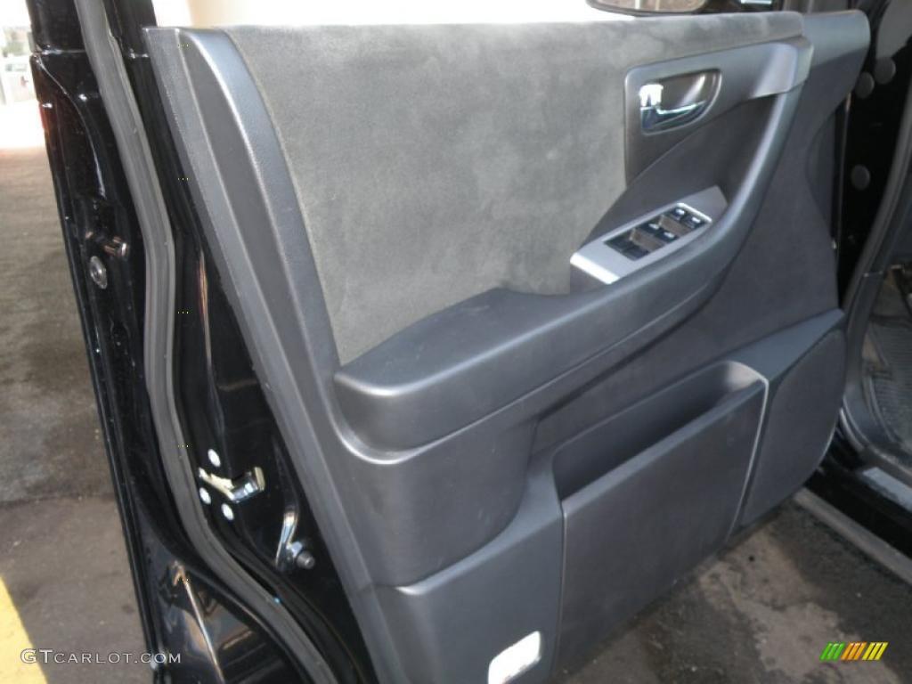 2006 Murano S AWD - Super Black / Charcoal photo #13