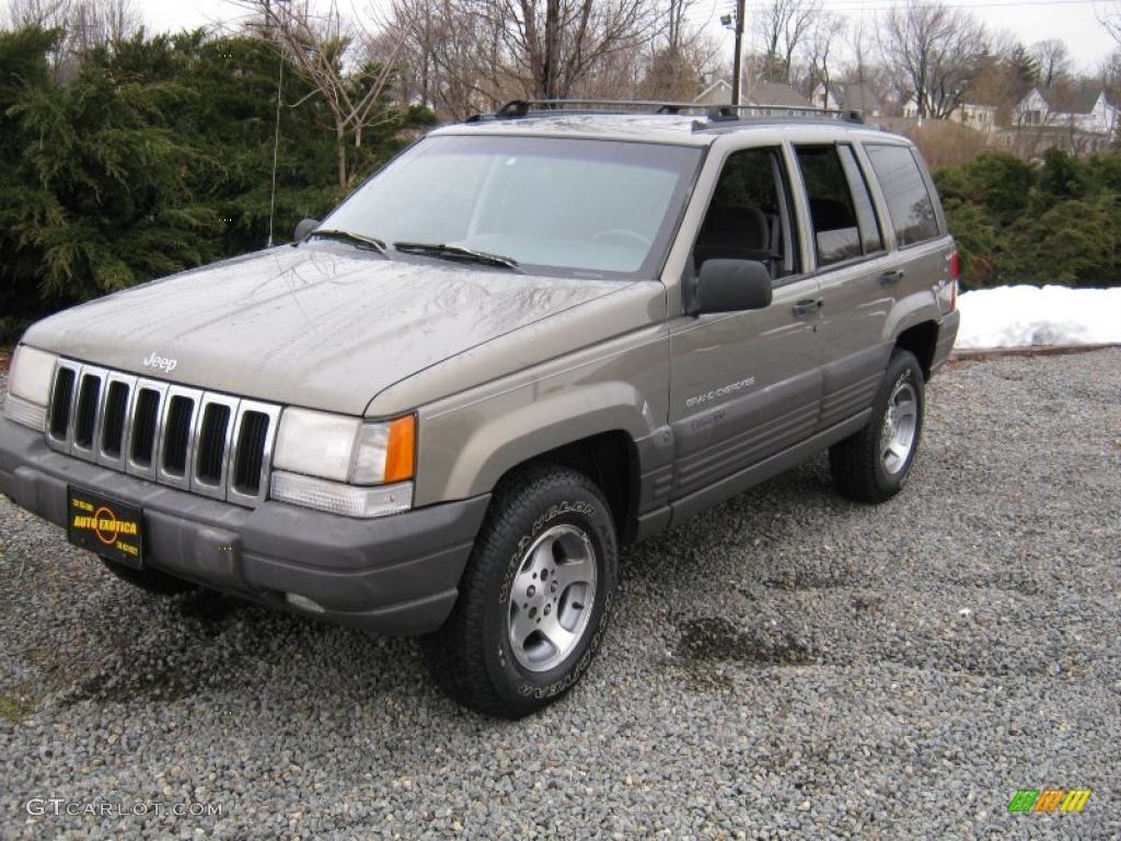 1996 Light Driftwood Satin Glow Jeep Grand Cherokee Laredo