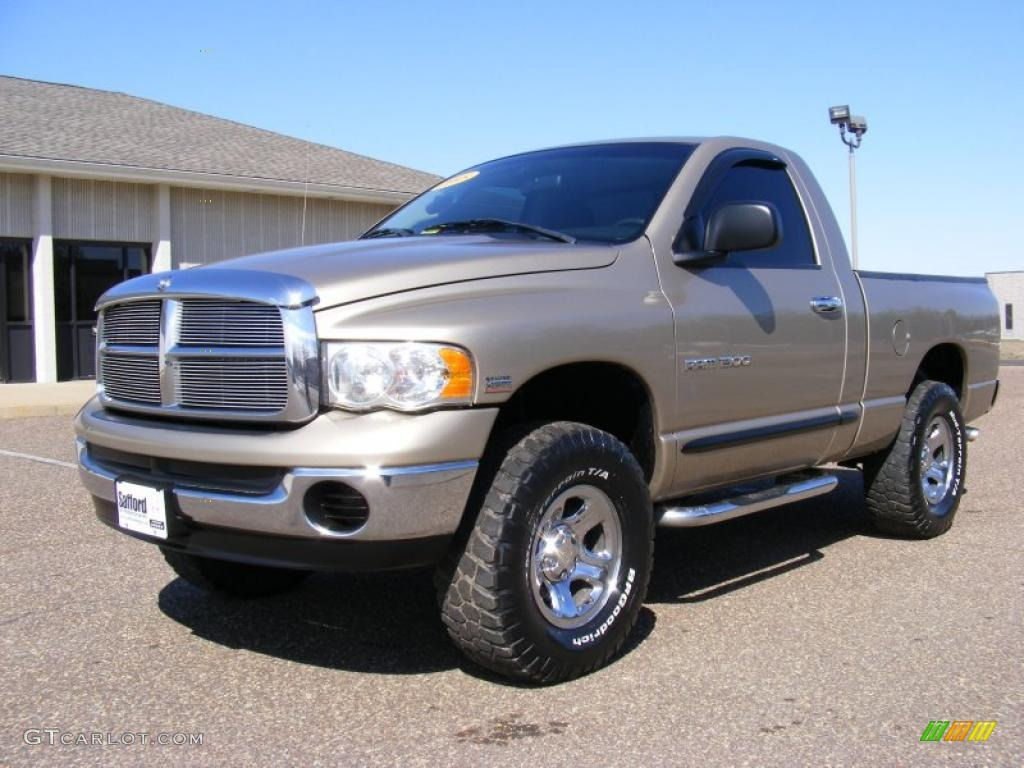 2005 light almond pearl dodge ram 1500 slt regular cab 4x4. Black Bedroom Furniture Sets. Home Design Ideas
