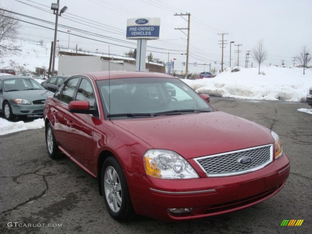 Ford Five Hundred Paint Colors