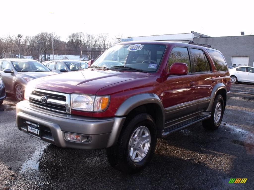 Marvelous Sunfire Red Pearl Toyota 4Runner. Toyota 4Runner Limited 4x4