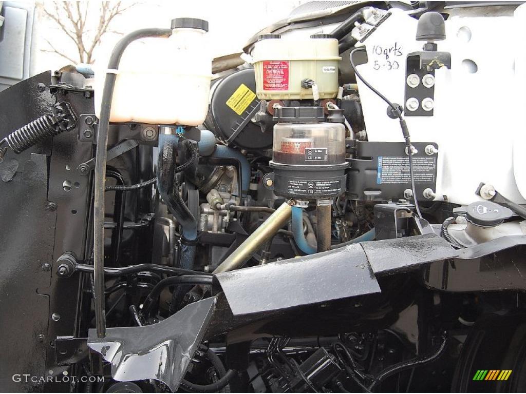 2004 C Series Kodiak C6500 Regular Cab Dump Truck - Summit White / Black photo #16
