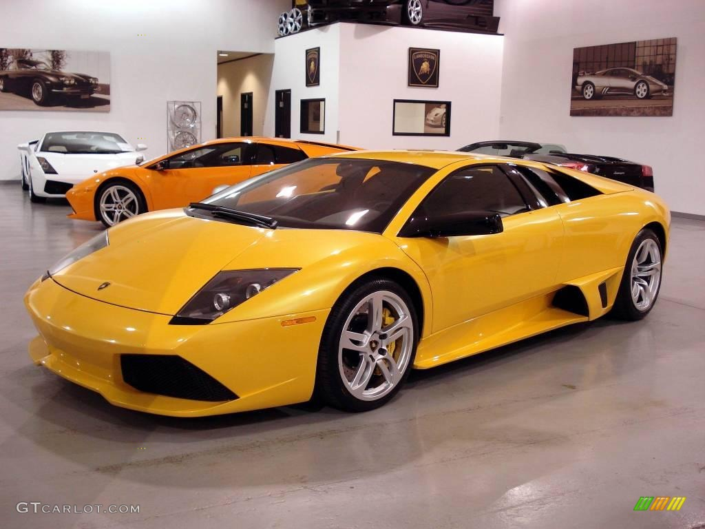 2007 Giallo Orion Yellow Lamborghini Murcielago Lp640 Coupe