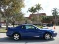 2003 Sonic Blue Metallic Ford Mustang V6 Coupe  photo #2