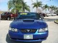 2003 Sonic Blue Metallic Ford Mustang V6 Coupe  photo #8