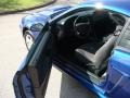 2003 Sonic Blue Metallic Ford Mustang V6 Coupe  photo #9