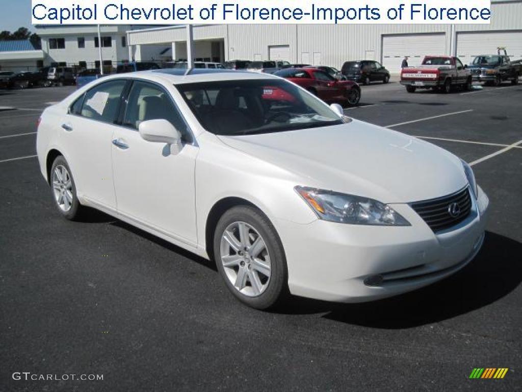 2007 Crystal White Lexus ES 350 26549476 Photo 2