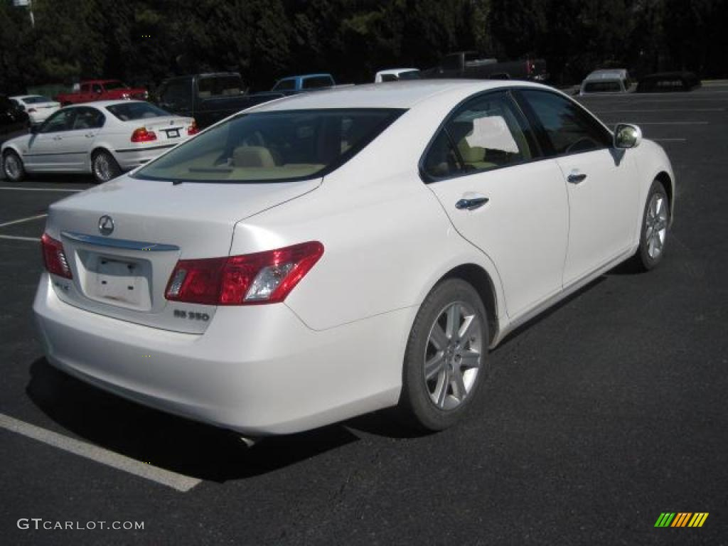 2007 es 350 crystal white cashmere photo 2