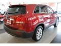 2011 Spicy Red Kia Sorento EX  photo #8