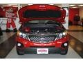 2011 Spicy Red Kia Sorento EX  photo #16