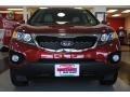 2011 Spicy Red Kia Sorento EX V6  photo #12