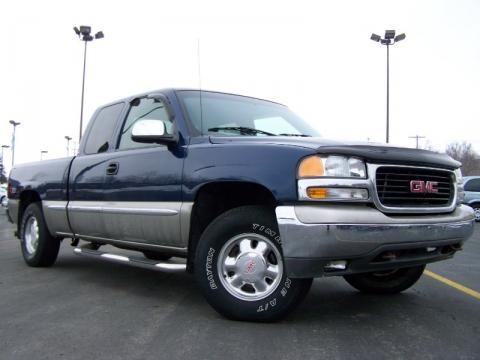 2001 gmc sierra 1500 slt extended cab 4x4 data info and specs. Black Bedroom Furniture Sets. Home Design Ideas