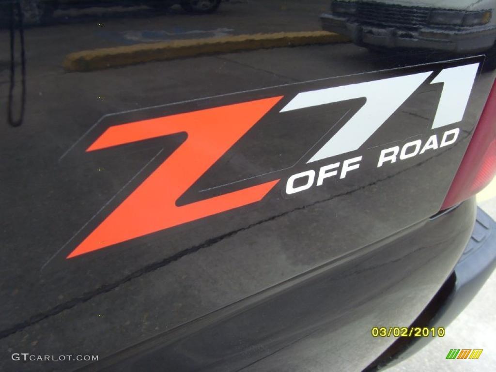2002 Silverado 1500 LS Extended Cab 4x4 - Onyx Black / Tan photo #7