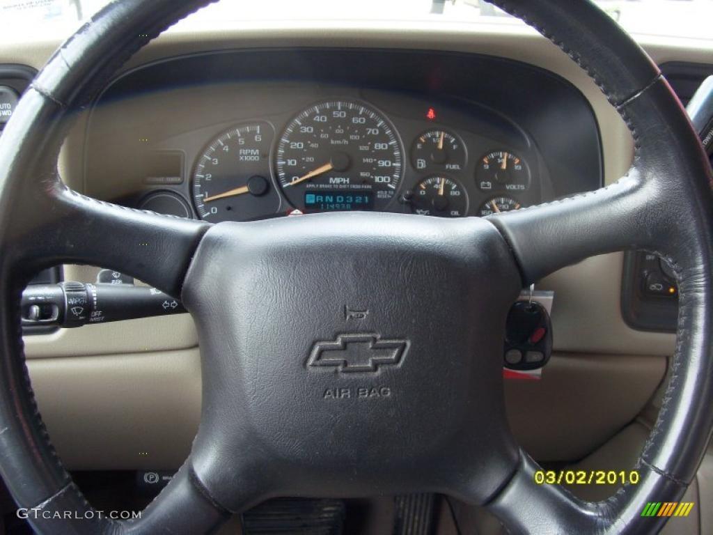 2002 Silverado 1500 LS Extended Cab 4x4 - Onyx Black / Tan photo #8