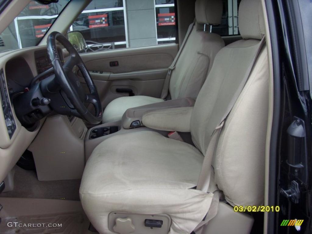 2002 Silverado 1500 LS Extended Cab 4x4 - Onyx Black / Tan photo #9