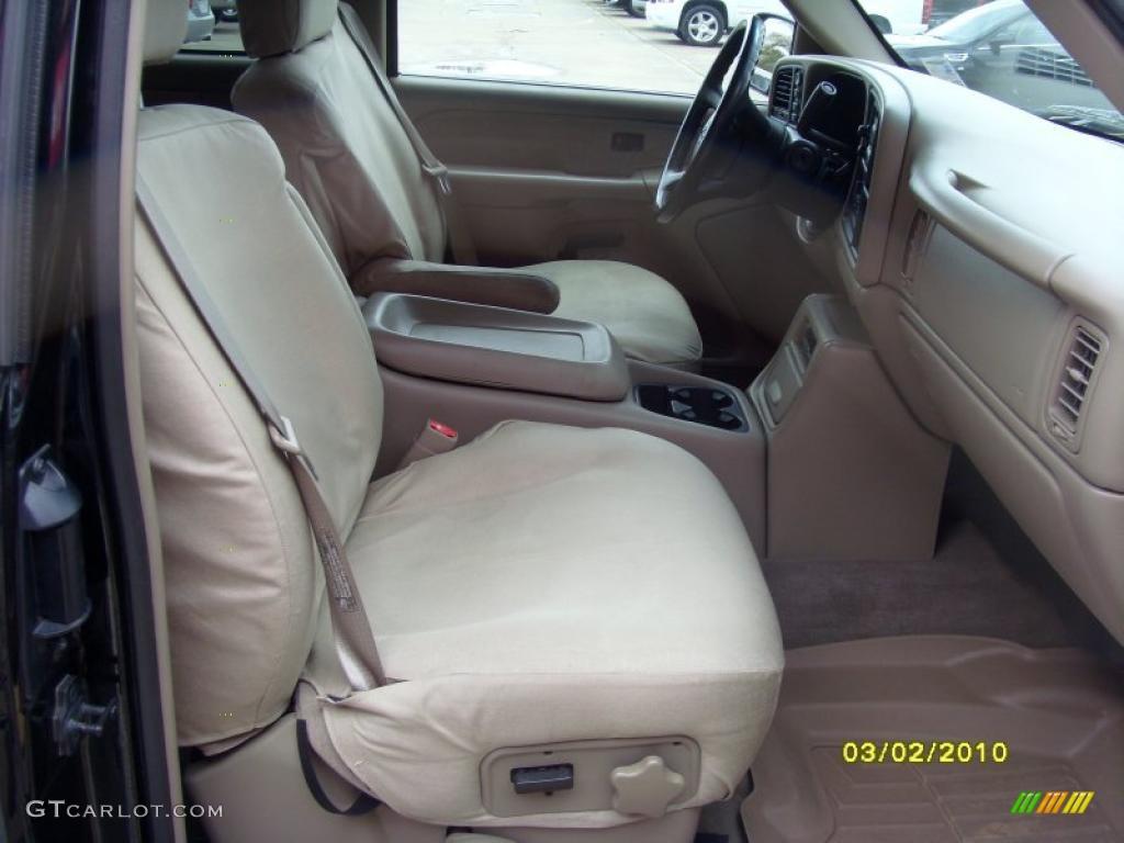 2002 Silverado 1500 LS Extended Cab 4x4 - Onyx Black / Tan photo #12