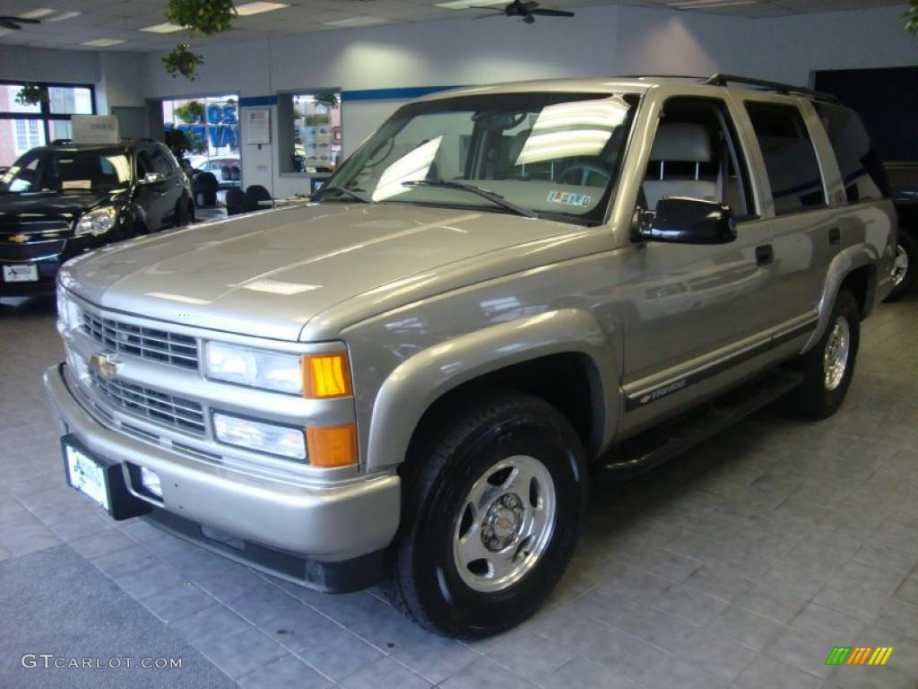 2000 Light Pewter Metallic Chevrolet Tahoe Z71 4x4 26549220
