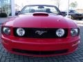 2007 Torch Red Ford Mustang GT Premium Convertible  photo #8