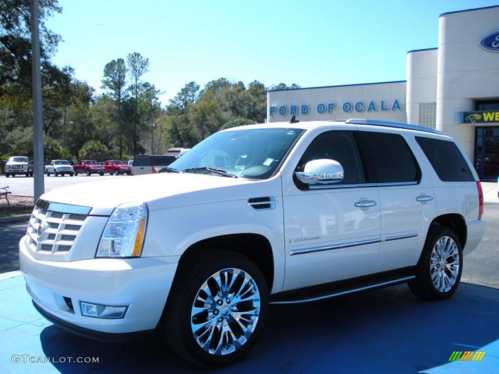 2008 white diamond cadillac escalade 26595175 gtcarlot. Black Bedroom Furniture Sets. Home Design Ideas