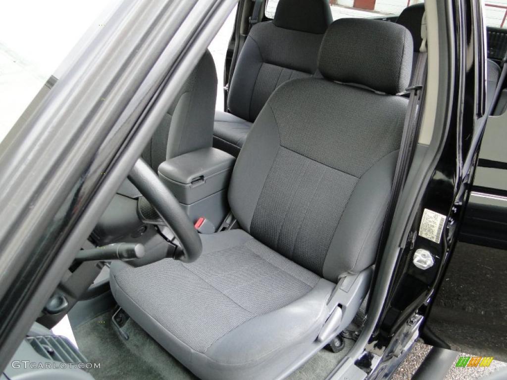 2002 Nissan Frontier Sc Crew Cab 4x4 Interior Photo 26623885