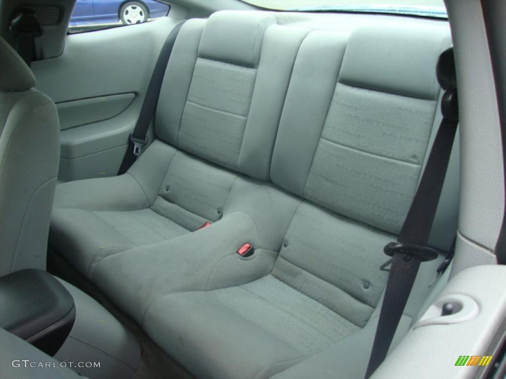 2007 Mustang V6 Premium Coupe - Vista Blue Metallic / Light Graphite photo #26