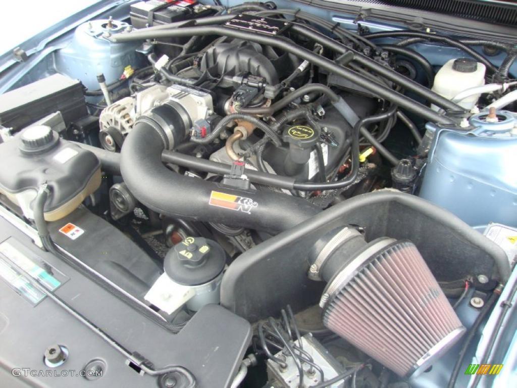 2007 Mustang V6 Premium Coupe - Vista Blue Metallic / Light Graphite photo #33