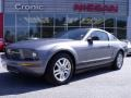 2007 Tungsten Grey Metallic Ford Mustang V6 Premium Coupe  photo #1