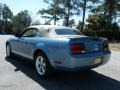 2007 Windveil Blue Metallic Ford Mustang V6 Premium Convertible  photo #3