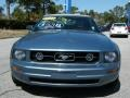 2007 Windveil Blue Metallic Ford Mustang V6 Premium Convertible  photo #8