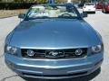 2007 Windveil Blue Metallic Ford Mustang V6 Premium Convertible  photo #19