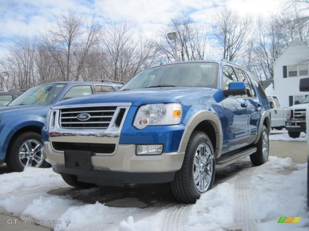 Blue Print For A Ford Explorer Eddie Bauer