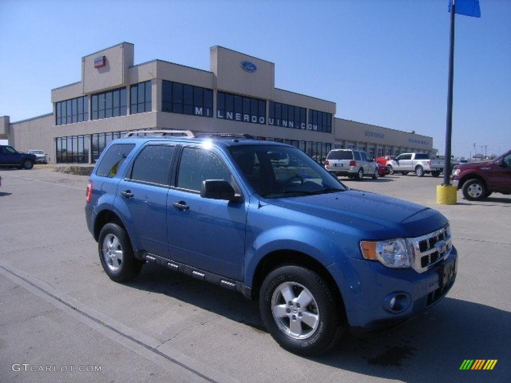 2009 Escape XLT V6 4WD - Sport Blue Metallic / Charcoal photo #1