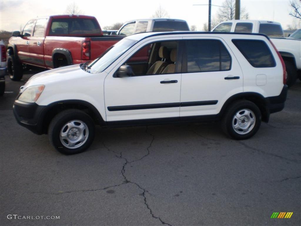 2002 Taffeta White Honda CRV LX 4WD 26595824 Photo 4  GTCarLot