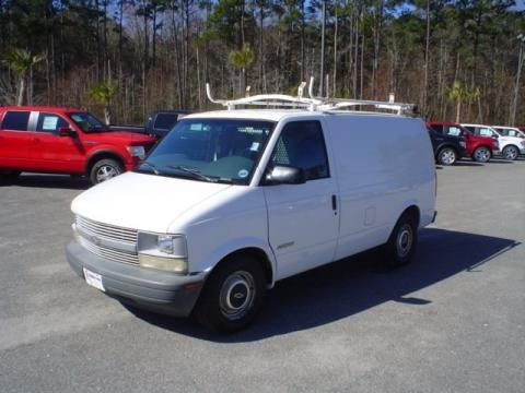 1999 Chevrolet Astro Cargo Van Data, Info and Specs