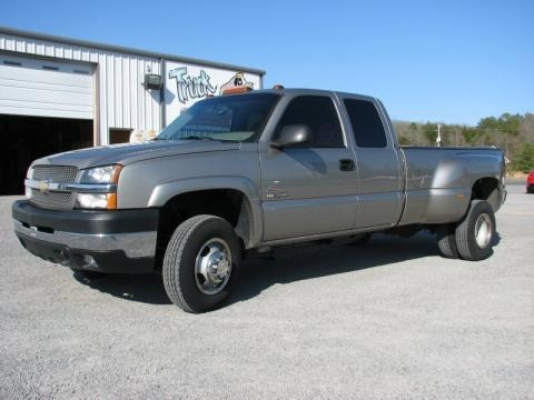 2003 Chevrolet Silverado 3500 LS Extended Cab 4x4 Dually Data, Info and Specs
