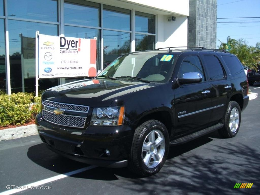 2010 black chevrolet tahoe ltz 26595105 car color galleries. Black Bedroom Furniture Sets. Home Design Ideas