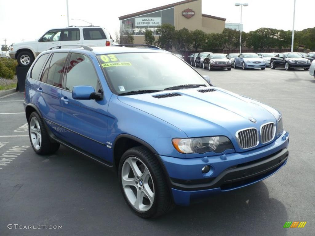 2003 estoril blue metallic bmw x5 26672850 car color galleries. Black Bedroom Furniture Sets. Home Design Ideas