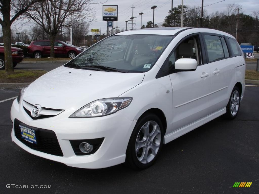 2009 crystal white pearl mica mazda mazda5 touring. Black Bedroom Furniture Sets. Home Design Ideas