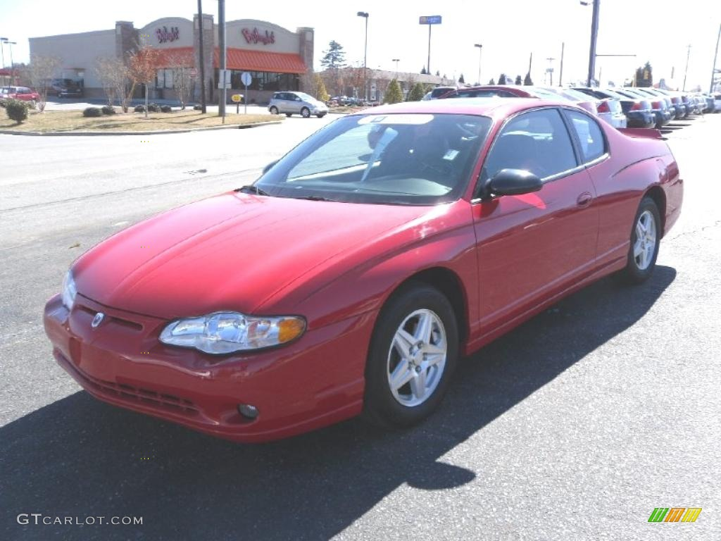 2005 victory red chevrolet monte carlo lt 26673463. Black Bedroom Furniture Sets. Home Design Ideas