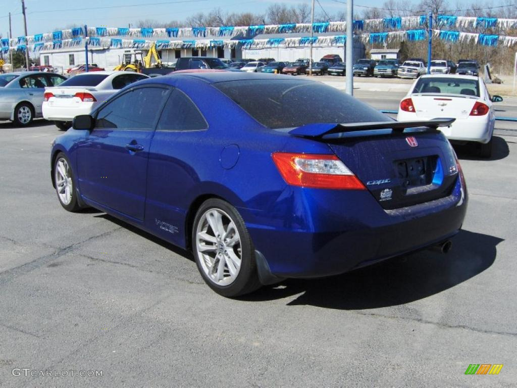 2007 Royal Blue Pearl Honda Civic Si Coupe 26672891 Photo 2 Gtcarlot Com Car Color Galleries