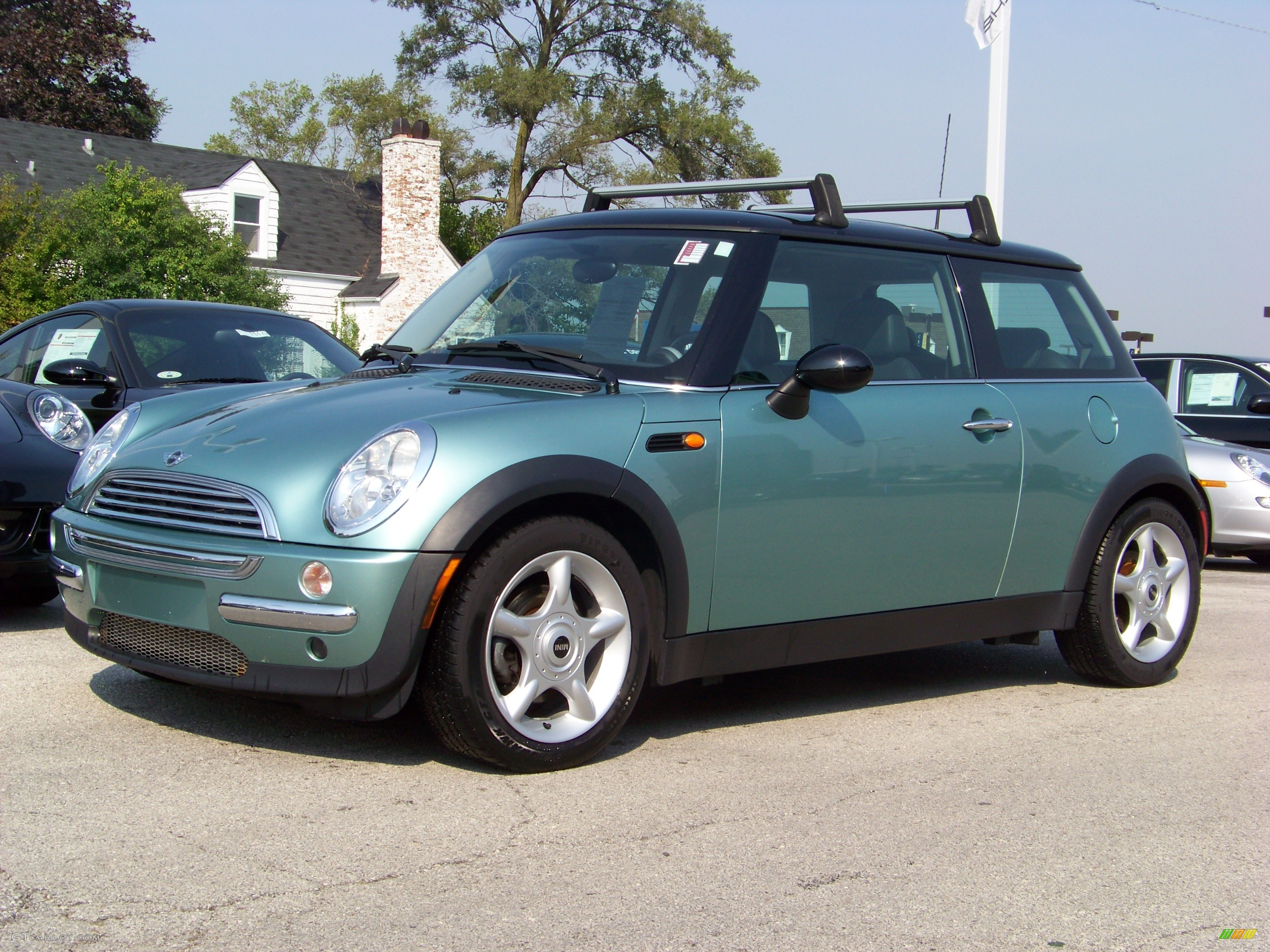 2003 silk green metallic mini cooper hardtop 267256 car color galleries. Black Bedroom Furniture Sets. Home Design Ideas