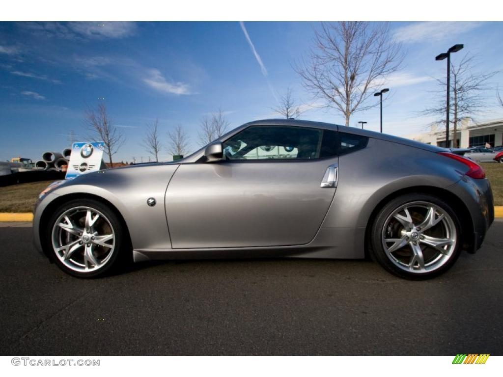 2009 Platinum Graphite Nissan 370z Sport Touring Coupe 26743831 Gtcarlot Com Car Color