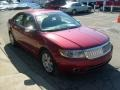 2008 Vivid Red Metallic Lincoln MKZ AWD Sedan  photo #6