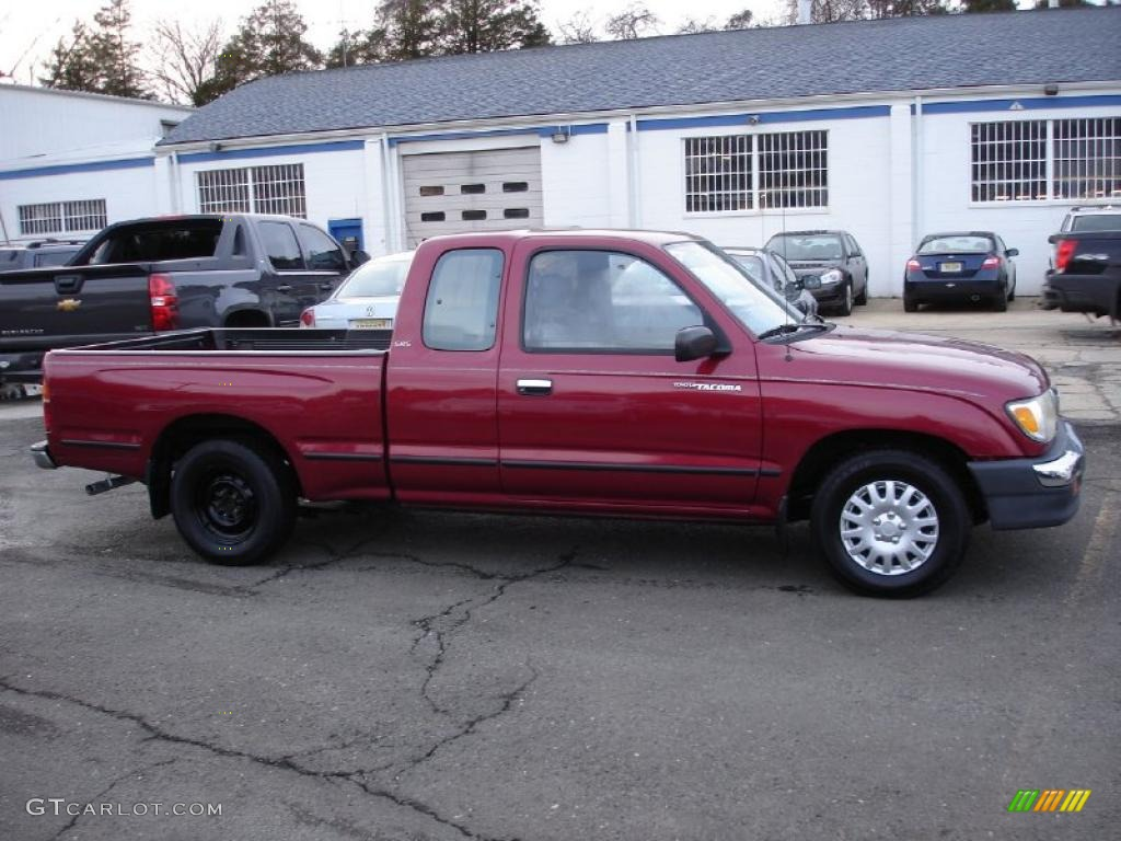 1998 sunfire red pearl metallic toyota tacoma sr5 extended. Black Bedroom Furniture Sets. Home Design Ideas