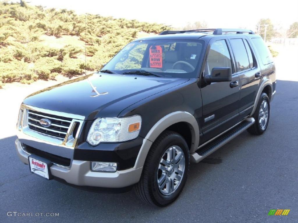 2006 Black Ford Explorer Eddie Bauer 26744173 Car Color Gal