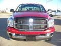 2007 Inferno Red Crystal Pearl Dodge Ram 3500 SLT Mega Cab 4x4 Dually  photo #3