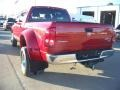 2007 Inferno Red Crystal Pearl Dodge Ram 3500 SLT Mega Cab 4x4 Dually  photo #7