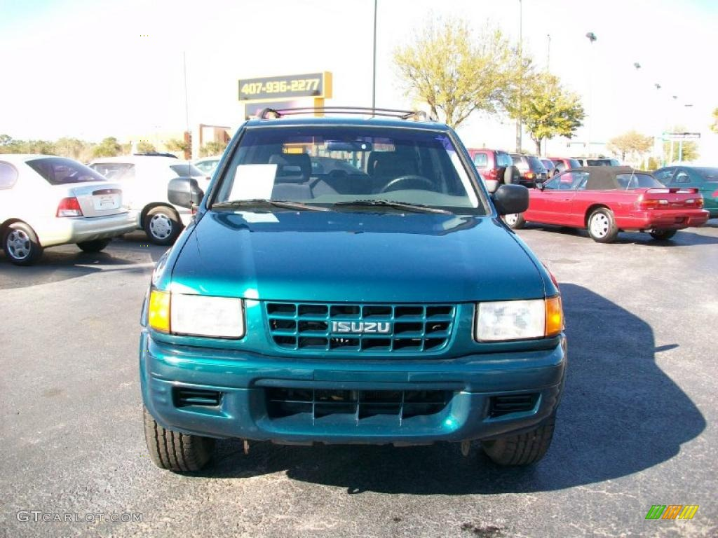 Isuzu Rodeo 1999 Green Save Our Oceans Ls